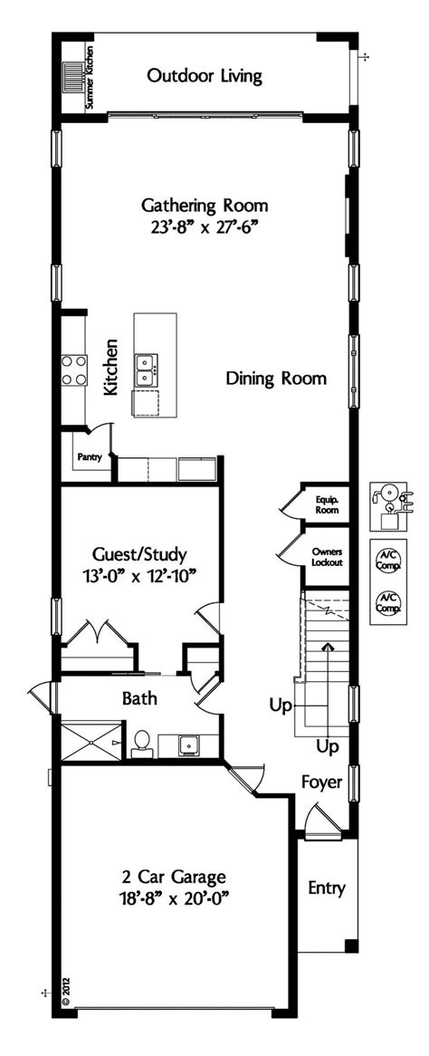 narrow lot colonial house plans best 25 narrow house plans ideas on pinterest narrow