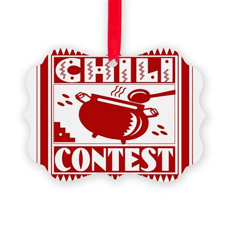 Chili Contest Ornament by foodparadise