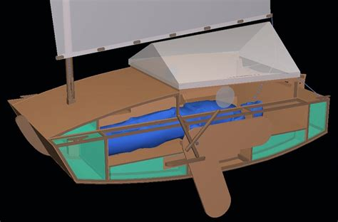 scow boat designs scow 244 free design boat design net