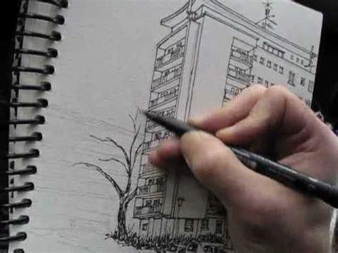 Garage Apartment Kit by Sketch Video 5 Urban Sketching In Saint Louis Fr Youtube