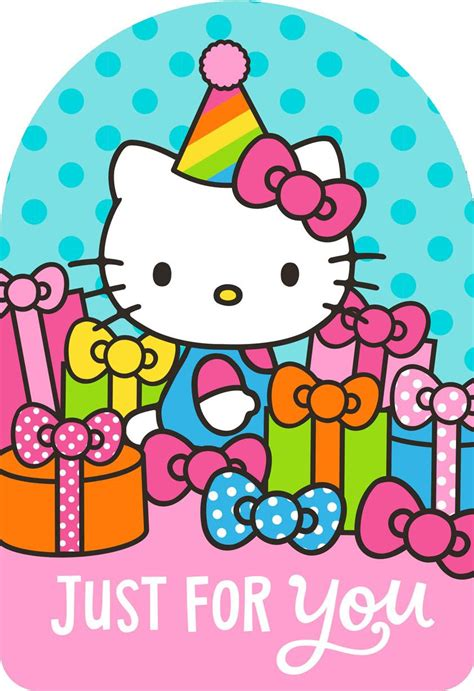Hello Happy hello 174 just for you birthday card greeting cards