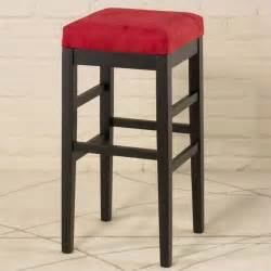 sonata 26 quot high square micro fiber backless counter stool