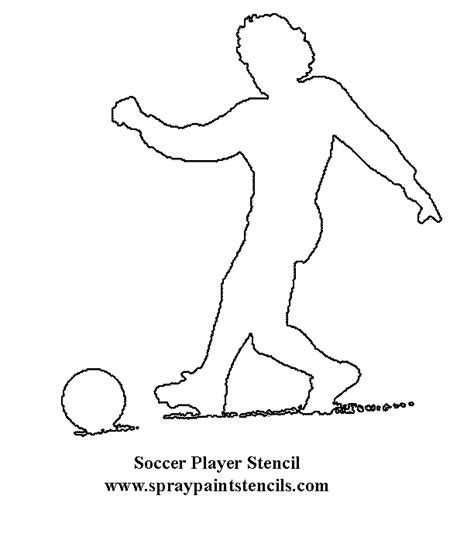 Sports Player Outline by Related Keywords Suggestions For Sports Stencils