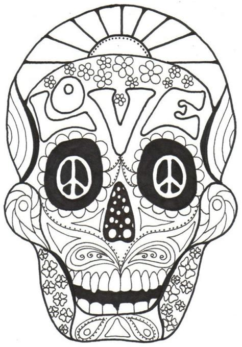 day of the dead animal coloring pages get this sugar skull coloring pages adults printable 31664