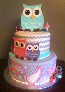 baby shower owls 13 baby shower cakes designs
