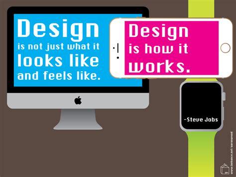 Design Is How It Works | steve jobs inspiring quote design is how it works