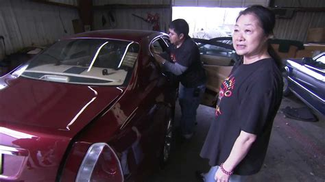 fast and loud upholstery lady tour sue s shop fast n loud youtube
