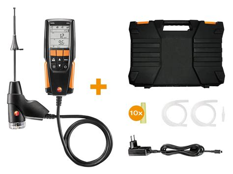 testo 310 combustion analyzer combustion flue gas