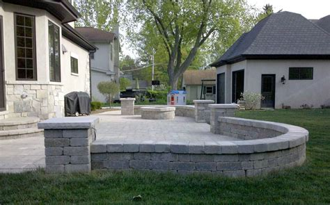 Paver Designs 5736 by Patio Ideas Unilock Paver Patio Unilock Brussels Block