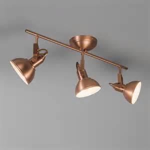 Outdoor Lighting Spotlights - spotlight tommy 3 copper lampandlight co uk