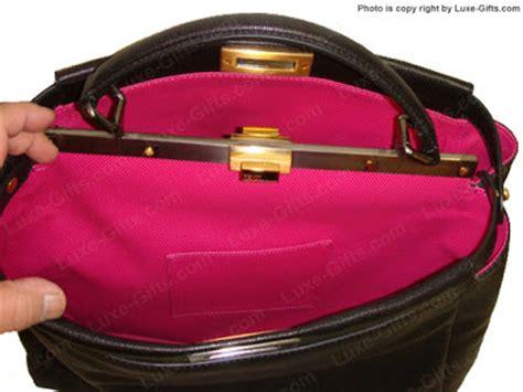 Limited Fendi Peek A Boo 23cm Original Leather Rp 4750000 2 the limited edition fendi black fuschia pink lining