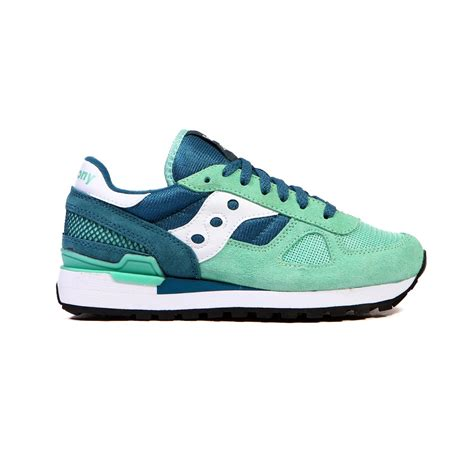 saucony shoes saucony shadow original green teal white s shoes