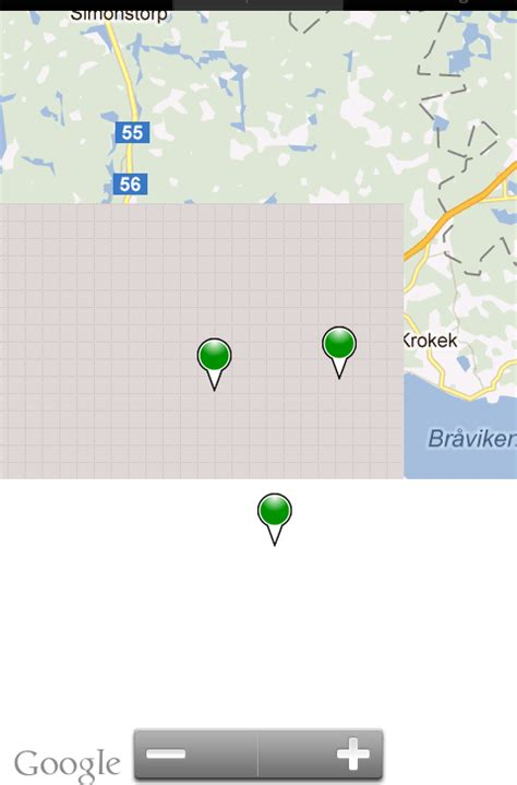 android mapview android mapview half screen white error stack overflow