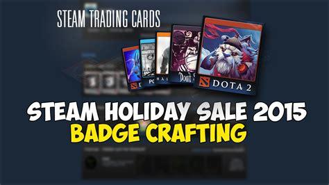 steam new year sale badge steam sale 2015 badge crafting