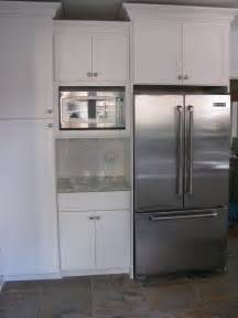 Kitchen Cabinets For Microwave Microwave In Cabinet Kitchen Wall Removal Remodel Ideas Microwaves