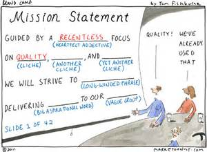 the 8 word mission statement for ad agency new business