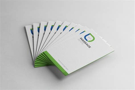 Business Card Messages Template by Message Creative Business Card Design Template 001793