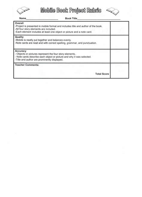 mobile book report template science fiction book report rubric apa format 6th edition in text citation