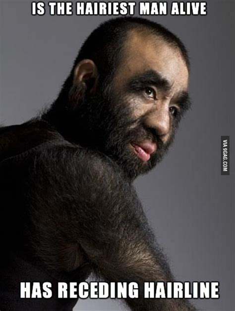Hairy Men Meme - bad luck quot hairiest man alive quot hairy men sports food and