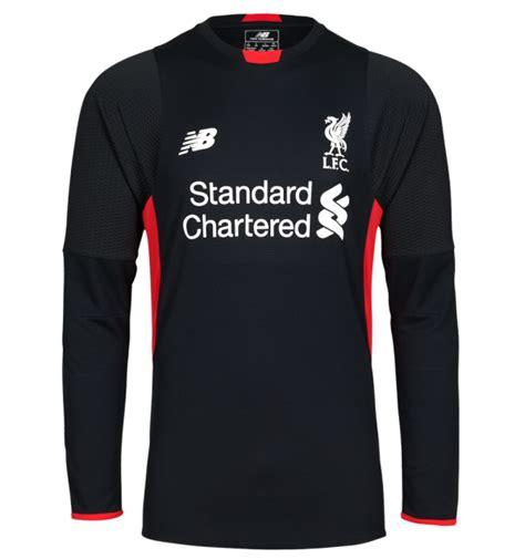 Jersey Liverpool Home Longsleeve 1516 liverpool goalkeeper kit 2015 16 new lfc gk home shirt 15