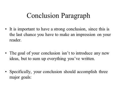 Conclusion Essay by Introduction Conclusion Paragraphs Ppt
