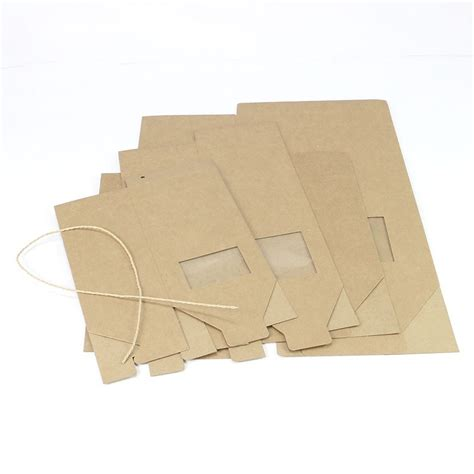 How To Fold Thick Paper - thick brown kraft paper folding gift box with rectangular