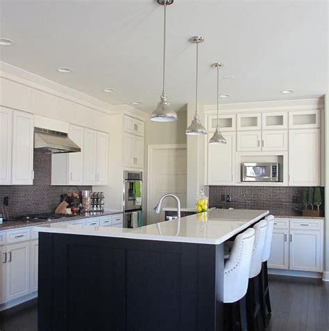 dark kitchen cabinets white island quicua com dark kitchen cabinets with off white island quicua com