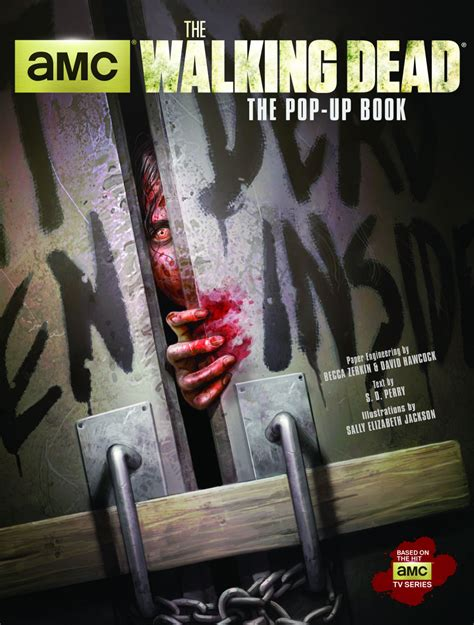 the walking dead the pop up book release details cover