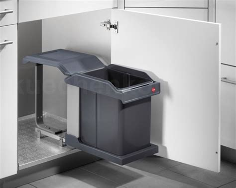 Automatic Drawer by Hailo Ms Swing 40 1 20 Pull Out Kitchen Waste Bin 20