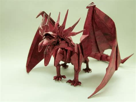 origami ancient get fired up for these origami dragons