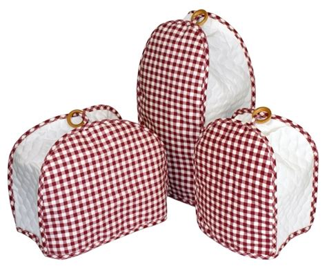 Home Appliance Cover 1000 Images About Gingham Kitchen On