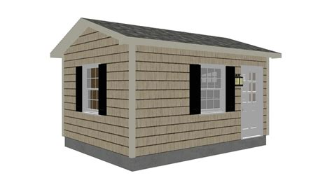 Lawn Shed Plans by Lawn Garden Shed Plans 12 X16