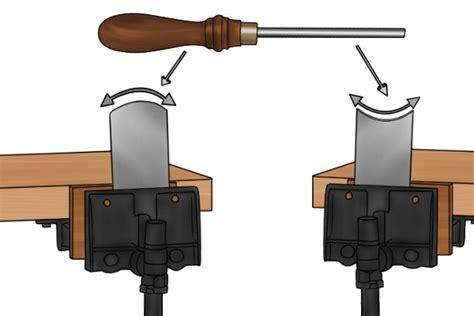 cabinet scraper burnishing tool how to sharpen a hollow cabinet scraper