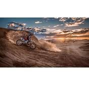 Motorcycle Racing In Desert  HD Wallpaper Download