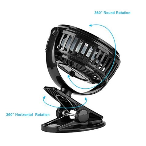 battery operated fan for car clip on usb fan wuudi battery operated mini desk fan for