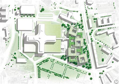 hospital design proposal gallery of helsingborg hospital extension winning proposal