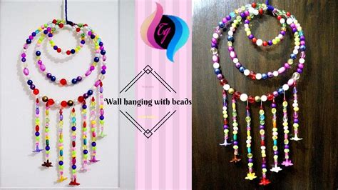 beads decoration home how to make wall hanging with beads hanging beads