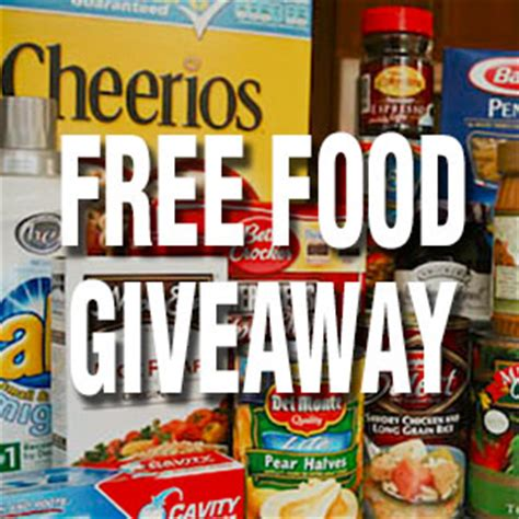 Cooking Giveaways - wake chapel church a caring community
