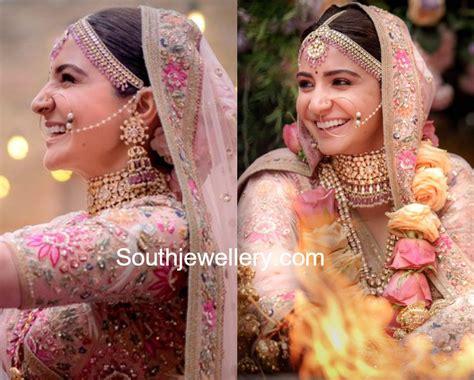 Sharma Designs The Of A - anushka sharma s wedding jewellery jewellery designs