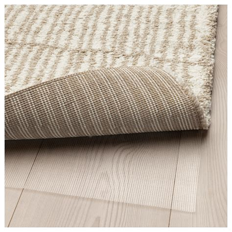 ikea beige rug lindelse rug high pile colour beige 170x240 cm ikea