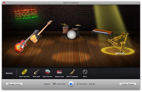 Garageband Instruments And Lessons Are Using How To Create A Song Using Magic Garageband Iclarified