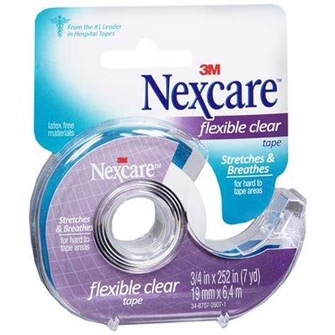 Nexcare Micropore 0 5 Inch Plester upc 051131669949 nexcare clear aid