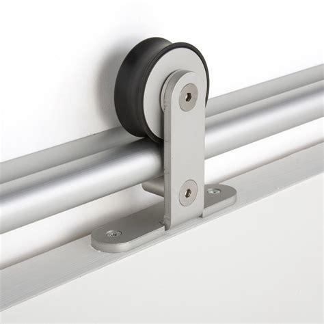 rail alu pour porte coulissante rail coulissant bolero 2 aluminium pour porte de largeur