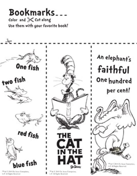 printable grinch bookmarks dr seuss bookmarks to color library learners