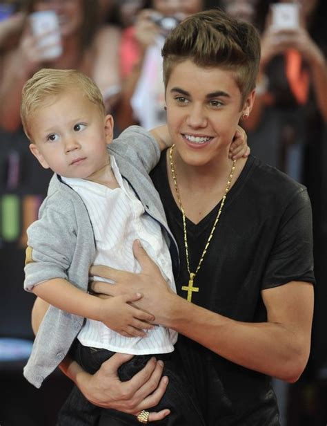 justin bieber biography siblings justin bieber joined by younger brother jaxon at muchmusic