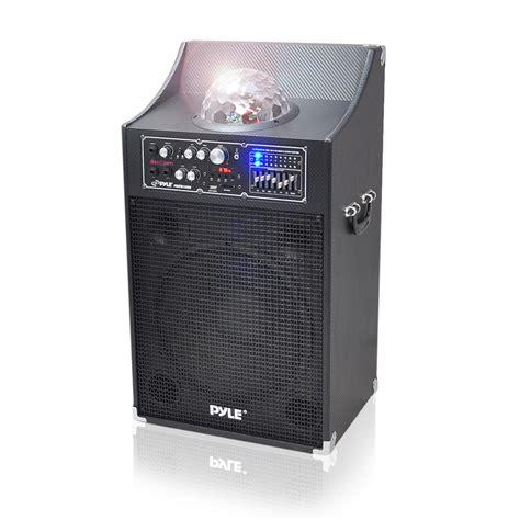 eluma lights speaker system pyle pro psufm1230a disco jam 1000w powered two way pa
