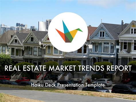 Real Estate Market Trends Report By Reusable Template Real Estate Marketing Presentation Template