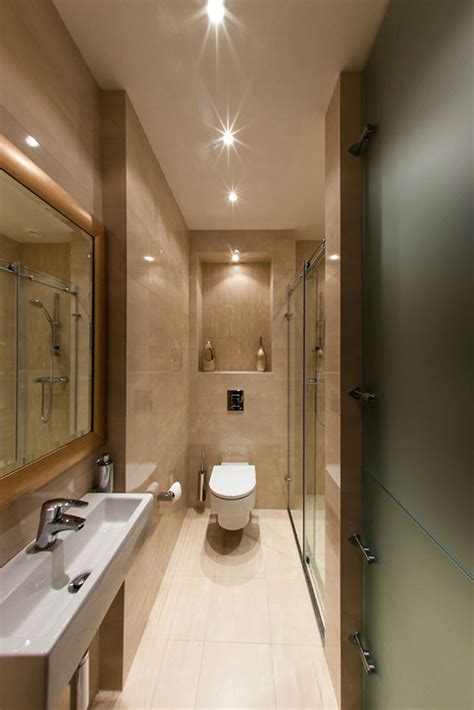Modern Bathroom Designs For Small Spaces Stylish Laconic And Functional New York Loft Style