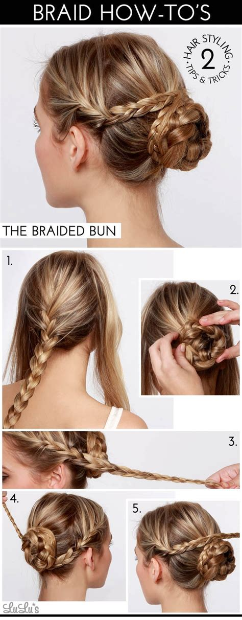 long hair buns for late 30 year old 30 cute and easy braid tutorials that are perfect for any
