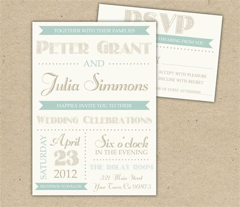 Easy Diy Printable Wedding Invitations Idea For Free Design Printable Wedding Invitations